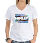 Henley Beach Women's V-Neck T-Shirt