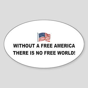 anti obama without Sticker (Oval)
