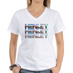 Henley Beach Women's V-Neck T-Shirt