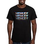 Henley Beach Men's Fitted T-Shirt (dark)