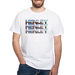 Henley Beach White T-Shirt