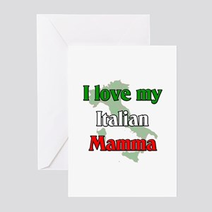 I Love My Italian Mamma Greeting Cards (Package of