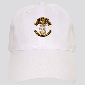 Navy - Rank - CMDCM Cap