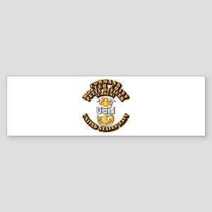 Navy - Rank - CMDCM Sticker (Bumper)