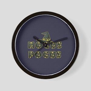 hocuspocus1a Wall Clock