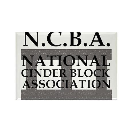 NCBA Logo Rectangle Magnet