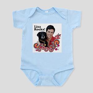 Lisa Rocks! Infant Bodysuit