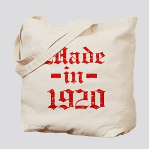 Made In 1920 Tote Bag