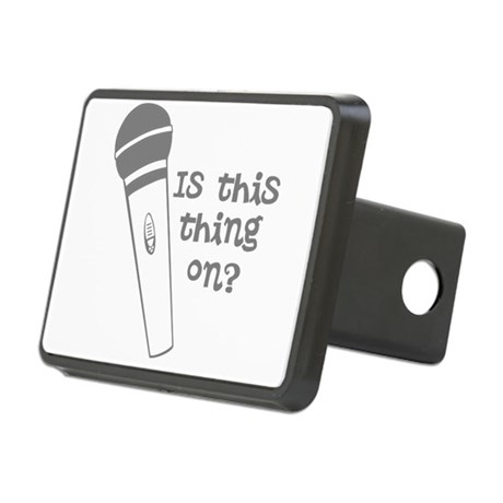is this thing on Rectangular Hitch Cover