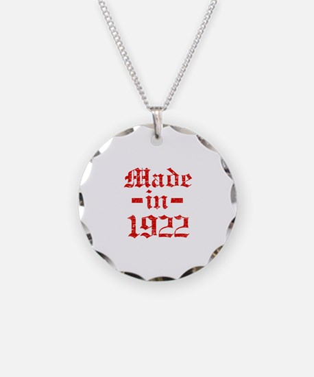 Made In 1922 Necklace