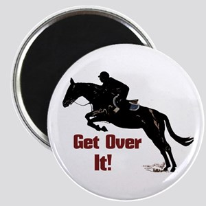 Get Over It! Horse Jumper Magnet