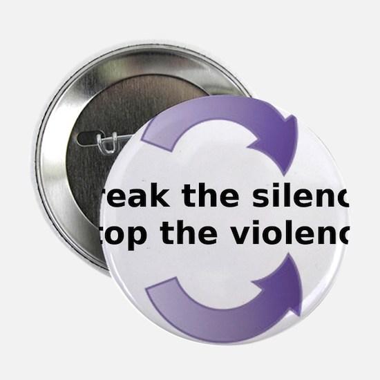 """Break the silence 2.25"""" Button"""
