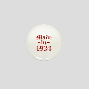Made In 1934 Mini Button