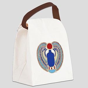 Tutankhamons Glyph Canvas Lunch Bag