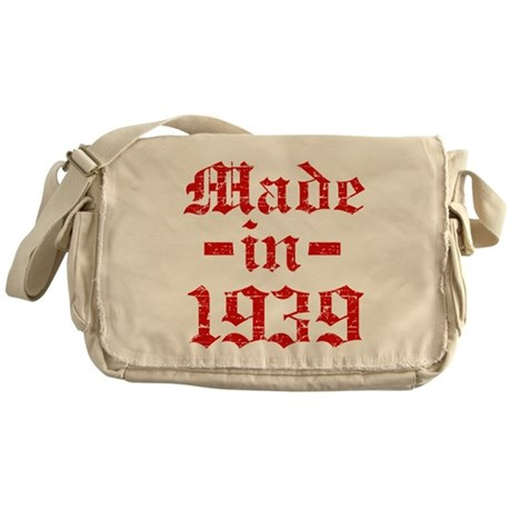 Made In 1939 Messenger Bag