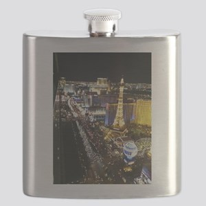 Vegas Strip Flask