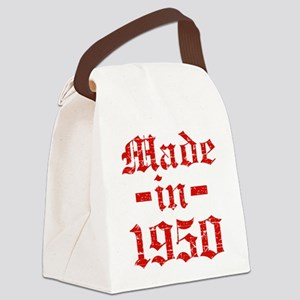 Made In 1950 Canvas Lunch Bag