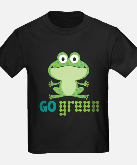 Go Green Frog T