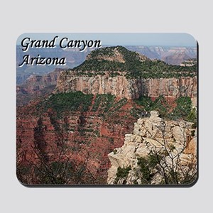 Grand Canyon, Arizona (with caption) Mousepad