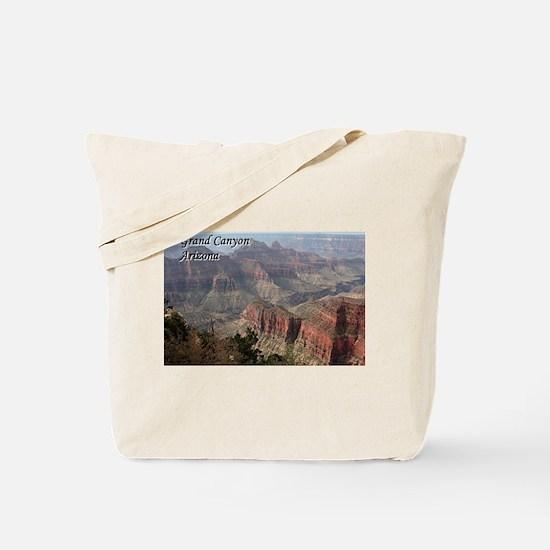 Grand Canyon, Arizona 2 (with caption) Tote Bag