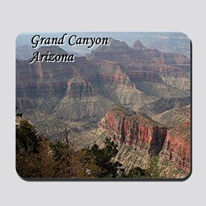 Grand Canyon, Arizona 2 (with caption) Mousepad