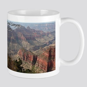 Grand Canyon, Arizona 2 (with caption) Mug