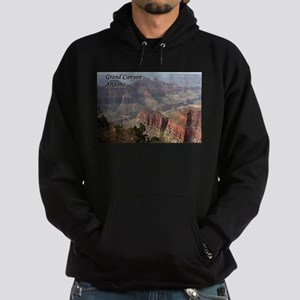 Grand Canyon, Arizona 2 (with caption) Hoodie (dar