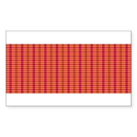 Plaidway Sticker (Rectangle)