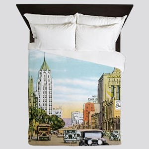Vintage Hollywood Queen Duvet