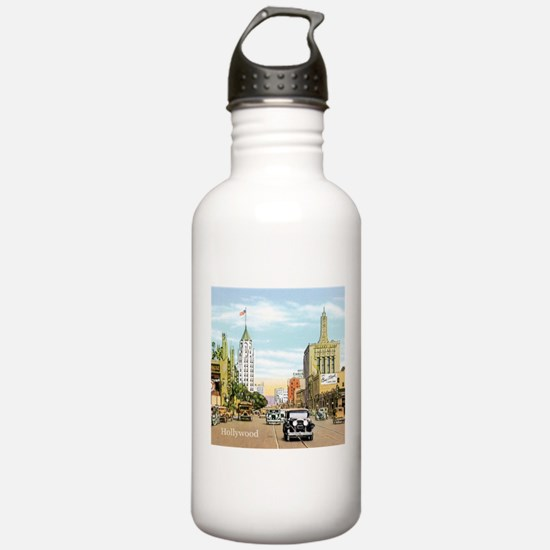 Vintage Hollywood Water Bottle