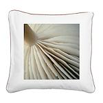 Mushroom square canvas pillow