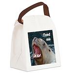 Sealion canvas lunch bag