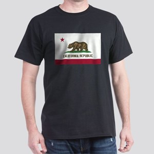 california flag Dark T-Shirt