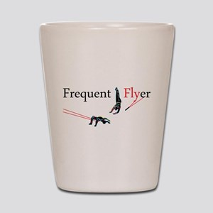Frequent Flyer Shot Glass