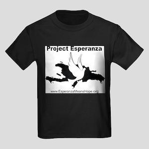 Project Esperanza Apparel and More Kids Dark T-Shi