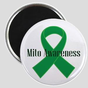Mito Awareness Green Ribbon Magnets