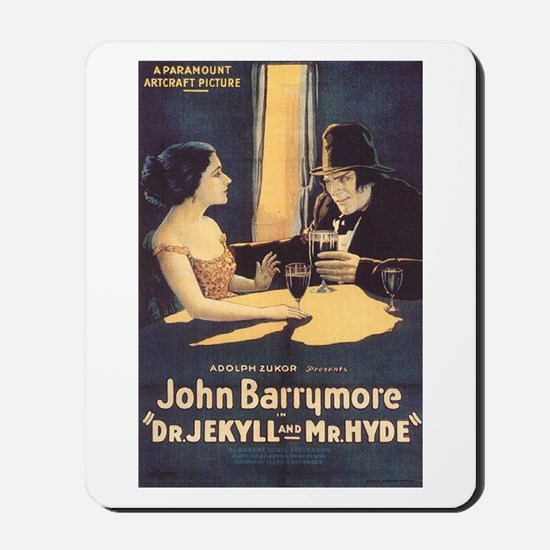 Dr. Jekyll and Mr. Hyde 1920 Mousepad
