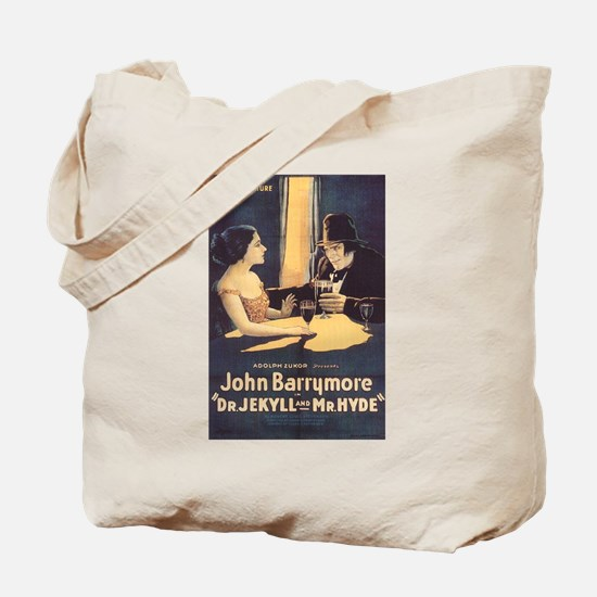 Dr. Jekyll and Mr. Hyde 1920 Tote Bag