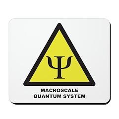 Macroscale Quantum System Mousepad