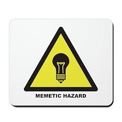 Memetic Hazard Mousepad