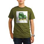 pop1.2 Organic Men's T-Shirt (dark)