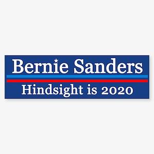 Bernie Hindsight Is 2020 Bumper Sticker