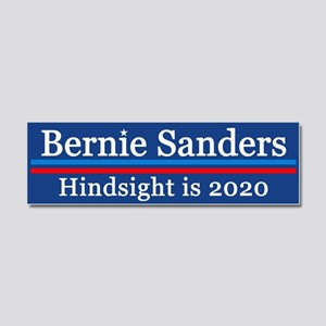 Bernie Hindsight Is 2020 Car Magnet 10 X 3