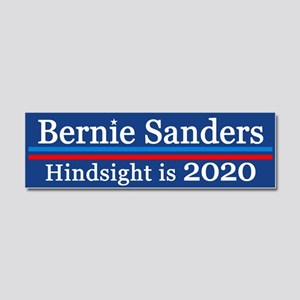 Bernie Hindsight Is 2020 Car Magnet 10 X 3