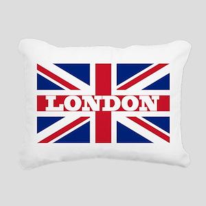 London1 Rectangular Canvas Pillow