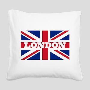 London1 Square Canvas Pillow