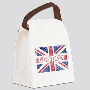 London2 Canvas Lunch Bag