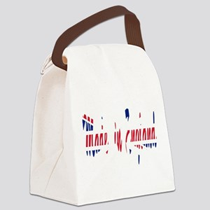 2-MIE1 Canvas Lunch Bag