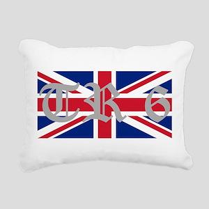 TR6 Rectangular Canvas Pillow