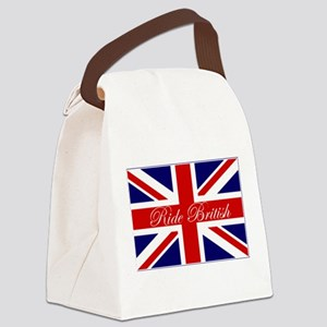 flagB Canvas Lunch Bag